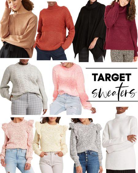 Target sweaters are BOGO 50% OFF! Fall sweaters. Fall style. Boots. Booties. http://liketk.it/2ZDzw @liketoknow.it #liketkit #LTKworkwear #LTKunder50 #LTKsalealert