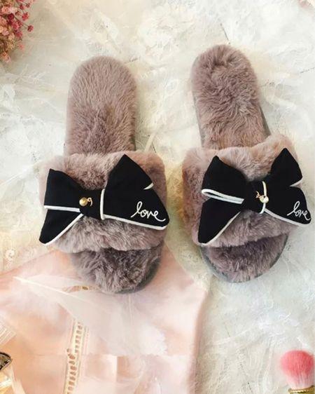 Under $15 fluffy slippers http://liketk.it/3aSBV #liketkit @liketoknow.it #StayHomeWithLTK #LTKstyletip #LTKunder50