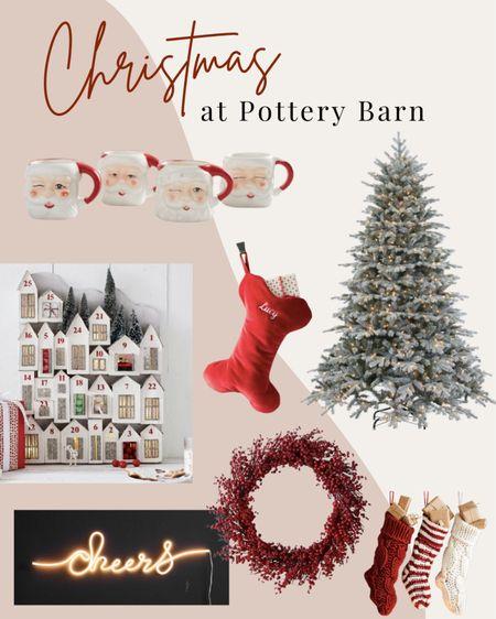 Christmas favorites from Pottery Barn!   #LTKhome #LTKHoliday #LTKSeasonal