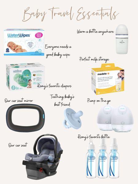 Baby Travel Essentials! #LTKbaby #liketkit @liketoknow.it http://liketk.it/3fvKp