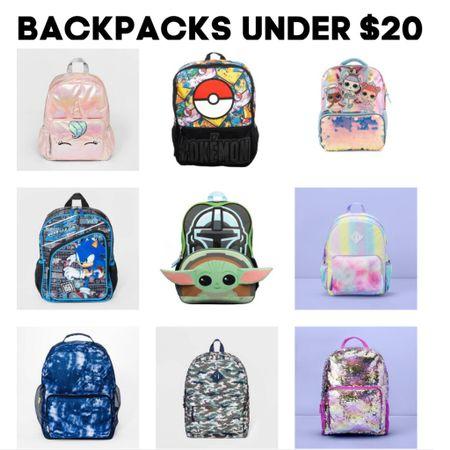 Kids back to school backpacks under $20  #LTKkids #LTKsalealert #LTKunder50 http://liketk.it/3jiqq #liketkit @liketoknow.it