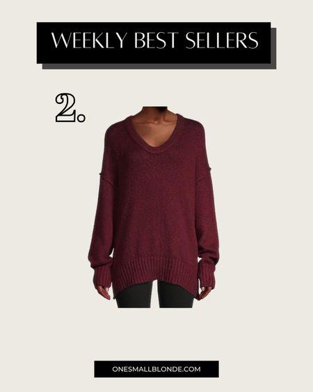Free people sweater on SALE for under $60!   #LTKstyletip #LTKunder100 #LTKsalealert