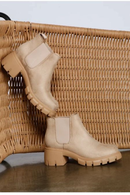 Boots Booties Under $50 Lookalike  Tan shoes   #LTKstyletip #LTKunder50 #LTKshoecrush