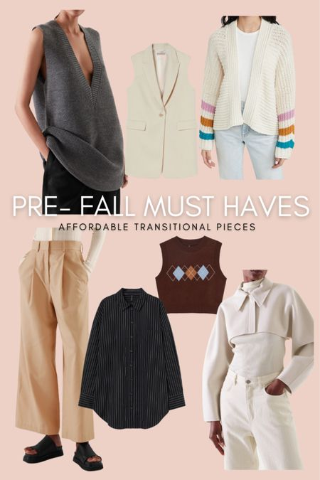 These must-have pre-fall items are perfect for the end of summer and into fall.   #LTKSeasonal #LTKstyletip #LTKunder100