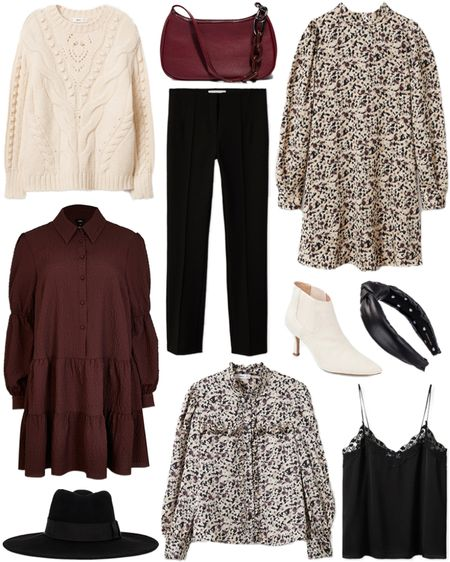Under $100 roundup! Obsessed with this floral mockneck dress 😍 Love it so much you might just see it in the Capsule Wardrobe!   #tssedited #thestylescribe #budgetfriendly #fall #winter #classic #staples #affordable   #LTKunder50 #LTKunder100