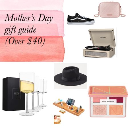 Mother's Day gift guide over $40! http://liketk.it/2NQBi #liketkit @liketoknow.it #mothersday #giftguide #affordable #amazon #target #urbanoutfitters #makeup #sephora