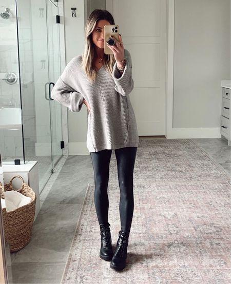 Amazon sweater size small Target combat boots are true to size     #LTKstyletip #LTKshoecrush