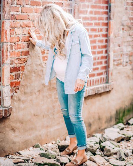 Favorite maternity jeans http://liketk.it/32Z42 #liketkit @liketoknow.it #maternitystyle #firsttrimester