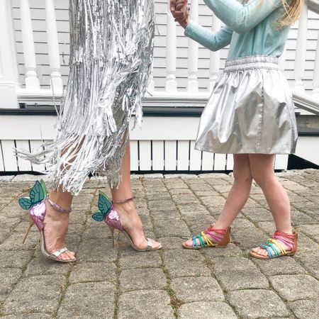 Life is short. Wear the sparkly skirt and fun shoes. http://liketk.it/3cM7p @liketoknow.it @liketoknow.it.family #liketkit #LTKfamily #LTKkids #LTKshoecrush