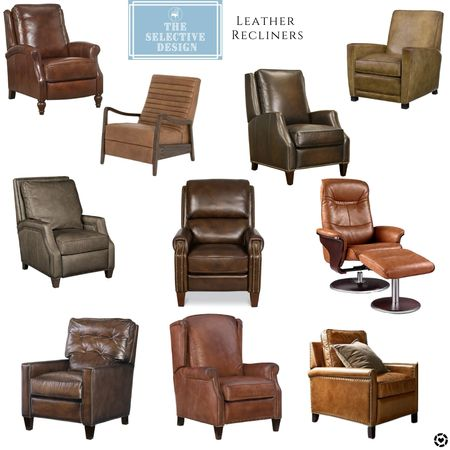 In honor of Father's Day coming up, here are some leather recliners that actually look good!   #LTKsalealert #LTKstyletip #LTKhome