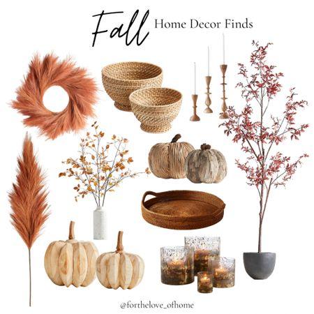 Pretty Fall home decor finds! Neutral shades of Fall. #homedecor #crateandbarrel #pumpkins #falldecor  #LTKSeasonal #LTKhome #LTKstyletip