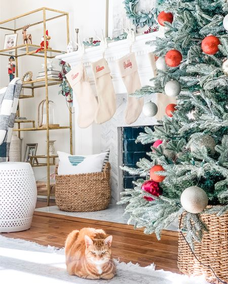 5 more sleeps until Christmas 🎄 Zoe is patiently waiting until the big guy in the res suit arrives with the gifts. Anyone else? I hope everyone had a great weekend! \\ http://liketk.it/34lbE @liketoknow.it #liketkit #LTKstyletip #LTKhome #LTKunder100