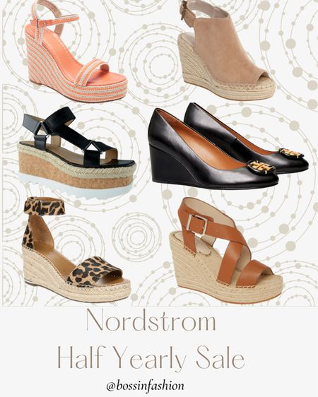 Nordstrom Half yearly sale still on till June 6! I am loving wedges for summer parties!!! Shop my favorite some up to 50% off! #nordstrom #nordstromshoes #summer #summershoes #wedges #LTKsalealert #LTKshoecrush You can instantly shop my looks by following me on the LIKEtoKNOW.it shopping app http://liketk.it/3gCEO #liketkit @liketoknow.it