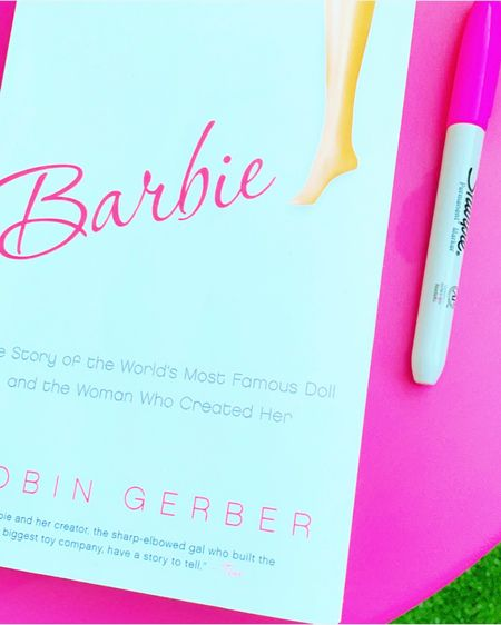 BARBIE BOSS 💖👠 Just read this bio of the woman who invented Barbie (and started the entire Mattel Corp. by the way!)... so many interesting facts and inspiration! See my Instagram post at @nicoledreamsinpink for more info and the cute mini Barbie dollhouse you need to see! #barbie #nicolelovesbarbies #barbiebook #liketkit @liketoknow.it http://liketk.it/37ayq