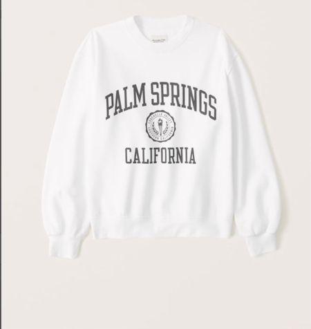 Boyfriend crew sweatshirt, super soft, and perfect for casual days + graphic tee  (on sale)   #LTKstyletip #LTKunder100 #LTKsalealert
