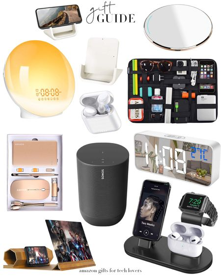 Last-minute Amazon gifts for the tech lovers in your life!   http://liketk.it/34qbs #LTKgiftspo #LTKunder100 #LTKunder50 #liketkit @liketoknow.it  Amazon, Amazon finds, Amazon gifts, tech, ear phones, charging stand, tech gifts, gift guides, gifts