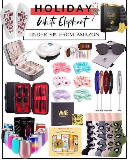 White elephant gift ideas from Amazon. http://liketk.it/32VBN @liketoknow.it #liketkit #LTKfamily #LTKunder50