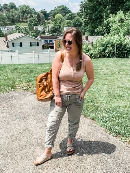 Neutral nursing friendly outfit.   Follow me on the LIKEtoKNOW.it shopping app to get the product details for this look and others.  http://liketk.it/3gPpE #liketkit #LTKfamily #LTKkids #LTKbaby @liketoknow.it.family @liketoknow.it