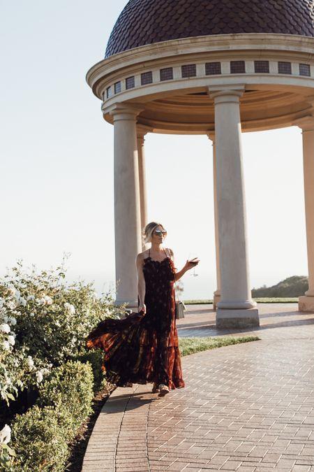 Most gorgeous maxi dress for fall 🖤   #LTKSeasonal #LTKwedding #LTKstyletip