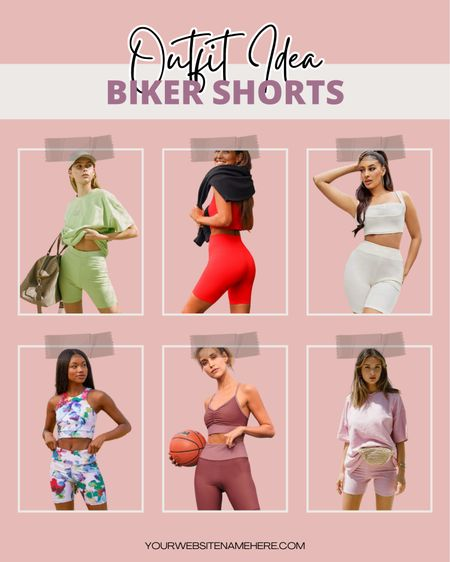 Hottest biker shorts to shop right now! 💫 On a hot summer's day ☀️, these stylish athleisure looks are great for both relaxation and exercise, and they also work great as airport outfits for travel ✈️. Check out these absolutely adorable biker shorts outfits I found! 😍 #LTKfit   @liketoknow.it http://liketk.it/3jmJr #LTKstyletip #LTKtravel #liketkit