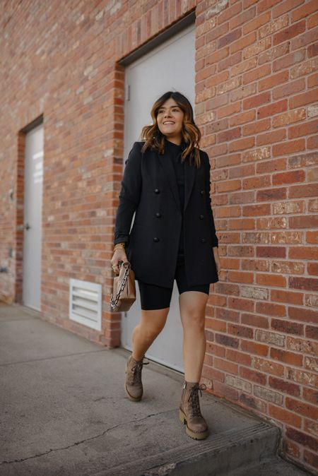 Total black look for the win! Added these Vince Camuto boots to feel extra comfortable! These boots are so chic and fit true to size!   #LTKHoliday #LTKshoecrush #LTKstyletip