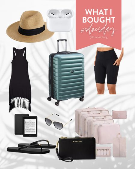 What I Bought Wednesday: Here's what I packed for my recent solo trip to Puerto Rico.     #LTKswim #LTKunder100