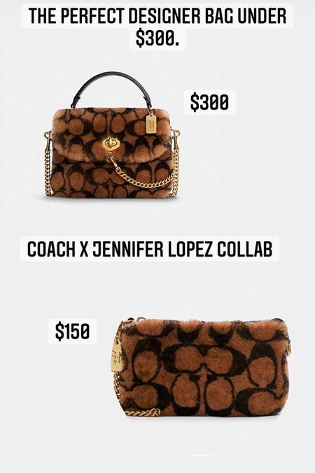 The perfect bag for Fall! #coach #shearling #fallpurse  #LTKGiftGuide #LTKSeasonal #LTKHoliday