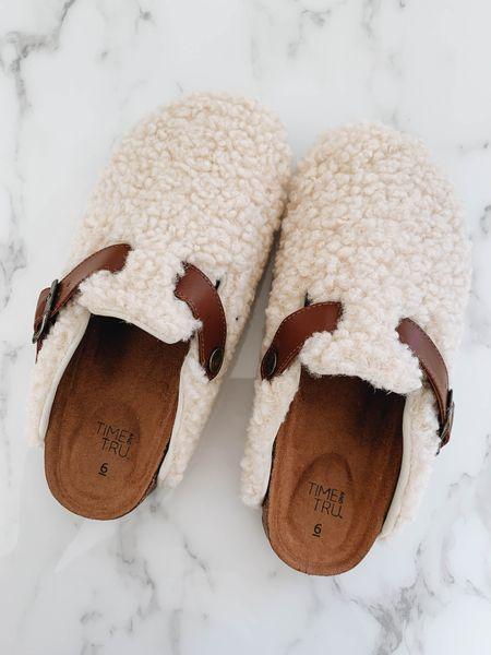 Sherpa clogs. Wearing size 6