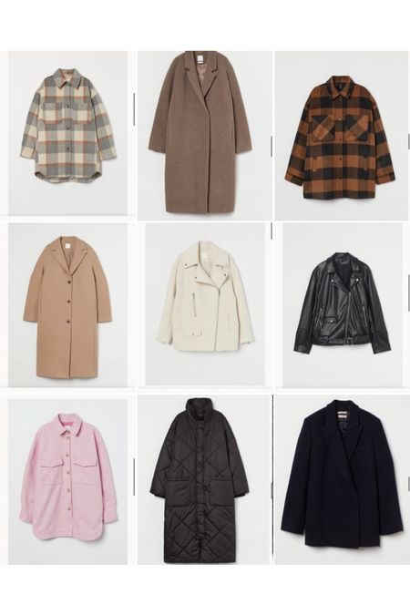 Some H&M coats I'm loving right now  for autumn and winter   #LTKeurope #LTKSeasonal #LTKstyletip