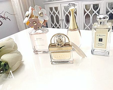 My top picks for the best fresh scent perfumes. Chanel J'adore Jo Malone Marc Jacobs smell amazing! These fragrances are not sweet and not musk. Essences of spring linen or light floral.   Excellent  gift for Mom on Mother's Day.  #LTKbeauty #LTKMothersDay http://liketk.it/2Ootc Follow me on the LIKEtoKNOW.it shopping app to get the product details for this look and others #liketkit @liketoknow.it