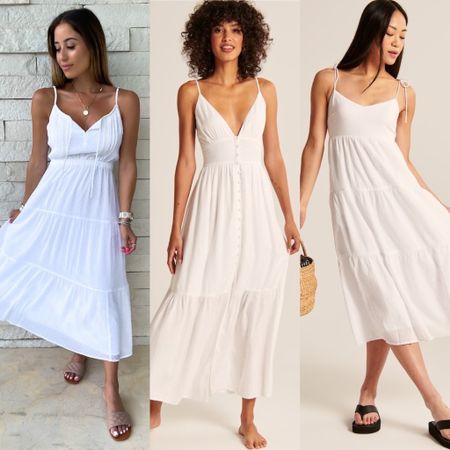 White dress for brides summer   #LTKunder50 #LTKstyletip #LTKwedding