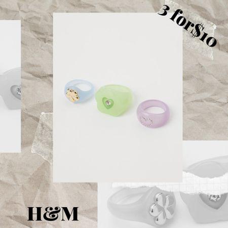 Chunky rings trends 2021 #chunkyrings #acrylicrings #rings2021  #LTKsalealert #LTKstyletip #LTKSeasonal