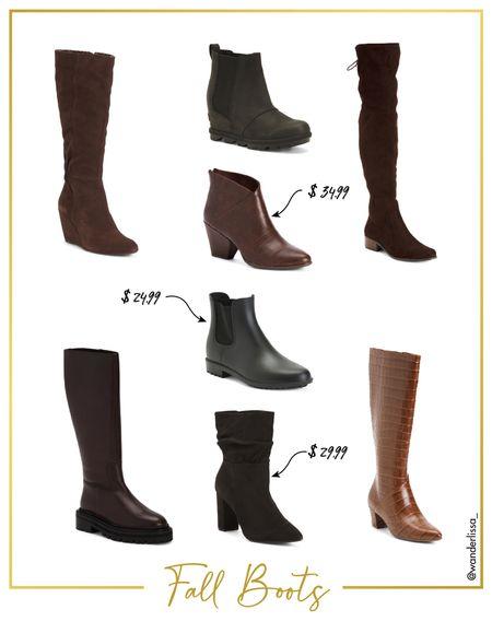 Affordable Fall Boots  #LTKunder50 #LTKshoecrush #LTKSeasonal