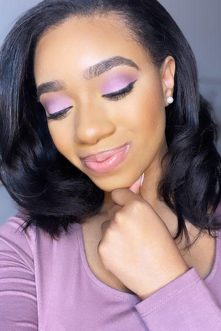 Spring makeup 🌸 used the NYX Ultimate Shadow palette 💜   #LTKunder50 #LTKSeasonal #LTKSpringSale