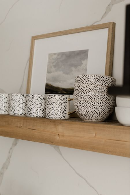 Walmart home fall trends: create the perfect fall home with these trendy designs for your kitchen!   Kitchen, dinnerware, magnolia home, modern farmhouse, serving ware, coffee mugs, bowls, plates, frames, floating shelves.   #LTKSale #LTKhome #LTKsalealert