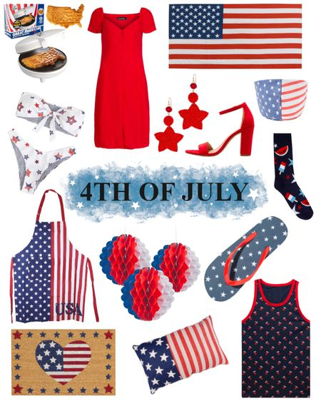 ✨🇺🇸With Independence Day coming up quickly, I thought I would round up some of my favorite Red, White and Blue items for you ❤️ Now on my blog sweetraspberryjam.blogspot.com (link in profile) , check it out 🇺🇸✨ OR  Follow me on the @liketoknow.it  shopping app to get the product details for this look and others - http://liketk.it/2RqiC #liketkit #LTKDay #LTKstyletip #LTKunder100