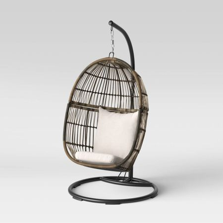 Hanging egg chair on SALE!! These are so cute and would make the perfect Christmas gift!  #LTKhome #LTKGiftGuide #LTKsalealert