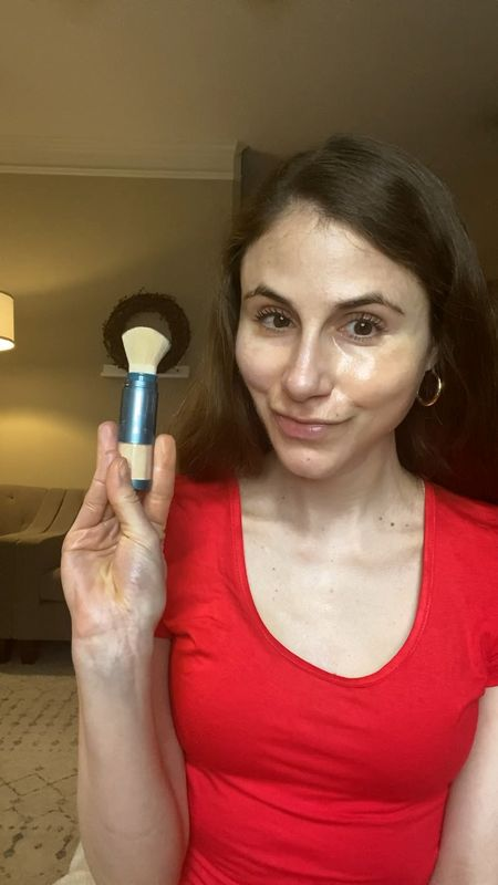 Colorescience Brush on sunscreen helps touch up your SPF and reduce shine.    #LTKSeasonal #LTKunder100 #LTKbeauty