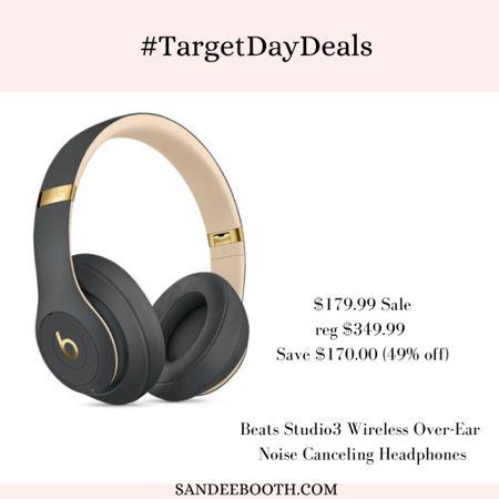 Target deal days: Beats Wireless Headphones   #LTKsalealert #LTKmens #LTKhome