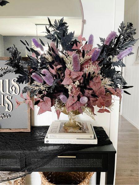Halloween faux florals   #LTKHoliday #LTKhome #LTKSeasonal