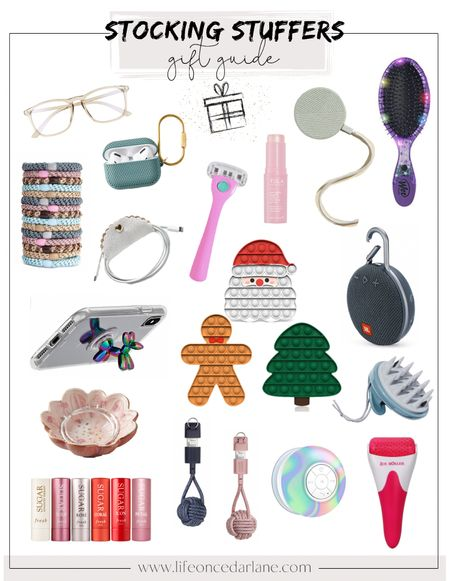 Fun and affordable stocking stuffers for the whole family! Snag these gifts from Amazon, Nordstrom, Anthropologie and more!   #LTKunder50 #LTKHoliday #LTKGiftGuide