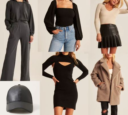 Abercrombie picks, faux fur coat, sweater dress #LTKSale #LTKunder50 #LTKsalealert    http://liketk.it/3o246 @liketoknow.it #liketkit