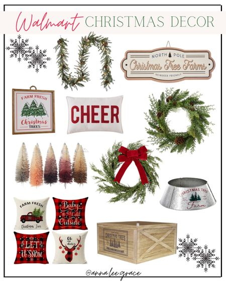 Walmart Christmas Decor   #LTKHoliday #LTKSeasonal #LTKGiftGuide