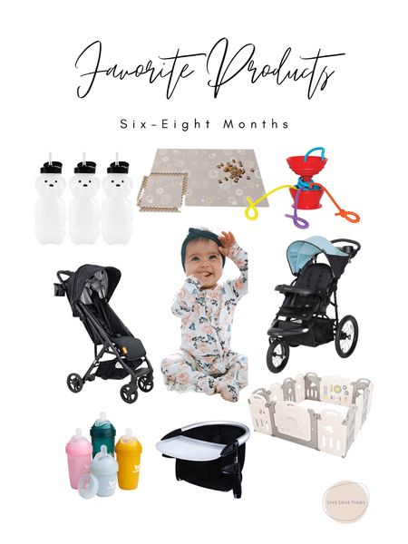 I'm sharing some of my most love baby products for months 6-8! We use these items almost daily!   #LTKbaby #LTKunder50 #LTKsalealert