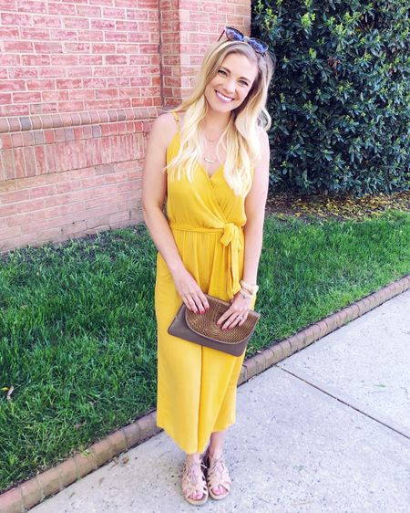 Friday is here and I'm feeling all kinds of festive because my birthday is tomorrow!! 🥳 I'll be celebrating with friends at the @queenscup horse race tomorrow and can't wait! 🐎🎈 (I bought a fascinator and everything! 💁🏼♀️) This breezy jumpsuit is slightly less fancy than tomorrow's race day look but I'm absolutely loving it because it looks like a little pop of sunshine! ☀️ And you guys it was less than $20!! 🤗 Shop this look and some of my other recent @walmart favs on the @liketoknow.it  app (just search pbfingers to find me 👋) or on the blog at https://bit.ly/pbfspringfashion #ad #liketkit #walmartfashion #wedressamerica #LTKunder50 #LTKstyletip #LTKunder100 http://liketk.it/2Bqs9