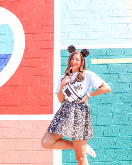 """Cut the bow off the ears for Mickey Ears & the t-shirt is from """"The Pixie Place"""" on Etsy! http://liketk.it/3elwH #liketkit @liketoknow.it #LTKunder50 #LTKfit #LTKstyletip"""