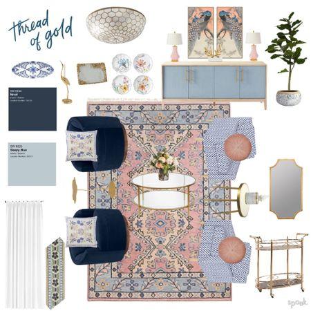 Shop this beautiful grandmillenial sitting room I designed for a virtual client!    #liketkit @liketoknow.it http://liketk.it/3dZIk