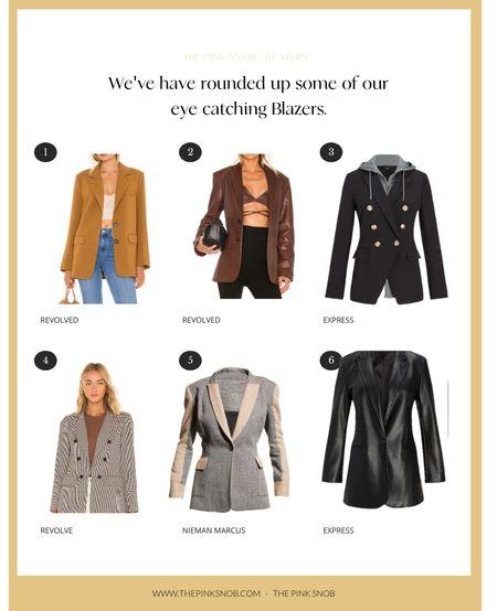 Fall outfits. Blazers  #LTKworkwear #LTKsalealert #LTKSeasonal