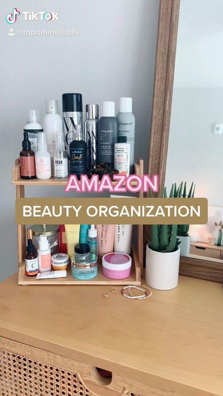 Amazon beauty organization finds! ✨💄   #LTKbeauty #LTKunder50 #LTKhome