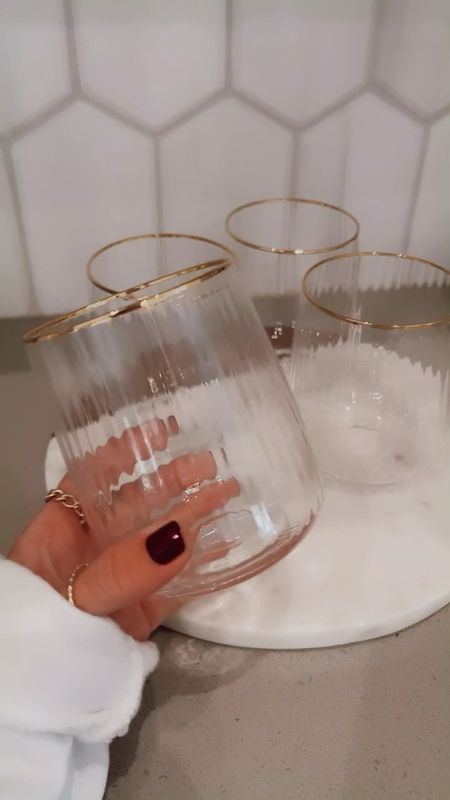 Amazon wine glasses.       #LTKhome